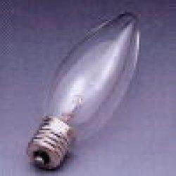 画像1: TOYO シャンデリア電球口金E12クリア LC110V40WC32E12/TC【入数25】東芝100/110V40C32CE12代替品